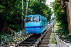 Kiev funicular, Ucrania Fotografía de archivo