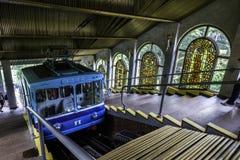 Kiev funicular, Ucrania Imágenes de archivo libres de regalías