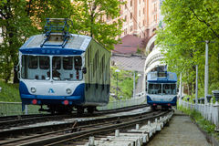 Kiev Funicular Stock Images