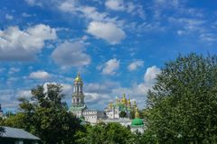 Kiev Great Lavra Panoramic View stock images