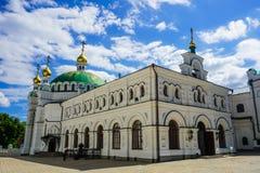 Kiev Great Lavra Refectory Church stock image