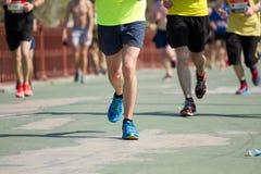 Kiev half marathon in Kyiv, Ukraine. Royalty Free Stock Photo