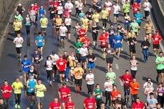Kiev half marathon in Kyiv Stock Photography