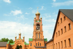 Kiev Holy Protection Holosiivska desert. Stock Image