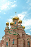 Kiev Holy Protection Holosiivska desert. Royalty Free Stock Photo