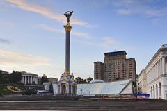 Kiev Indep Square Stella Stock Photography