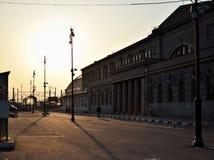 Kiev järnvägsstation Arkivfoto