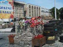 Kiev. Jule 2014 on Euromaydan, Khreschatyk, Ukraine royalty free stock images