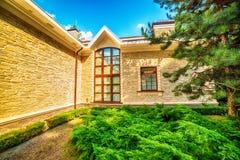 Kiev, Kiyv, Ukraine : la résidence de Mezhyhirva de l'anciens premier ministre et Président pro-russes Viktor Yanukovych Photo stock