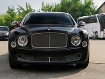 Kiev - l'Ukraine 12 Juin 2011 Bentley Mulsanne image stock