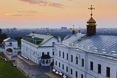 Kiev Lavra City Red Rise Stock Images