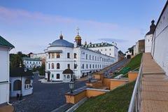 Kiev Lavra Complex Inside Walls Royaltyfri Fotografi