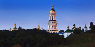 Kiev Lavra Pan Rise Stock Photography