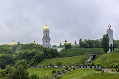 kiev lavra pechersk Fotografia Stock