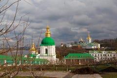 kiev lavra pechersk panorama Zdjęcie Stock