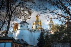 kiev lavra pechersk widok obrazy royalty free