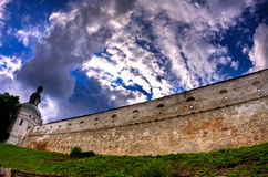 Kiev Lavra, Ukraine. The wall of Kiev Pechersk Lavra in Kiev, Ukraine Royalty Free Stock Image