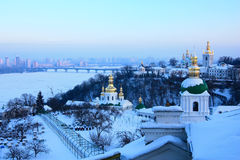 kiev lavrapechersk Royaltyfri Foto