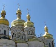 kiev lavrapechersk Royaltyfri Fotografi