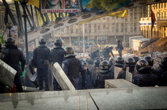 Kiev le 19 février 2014 Photo stock