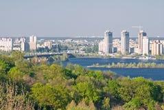 Kiev on left bank Stock Photos