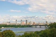 Kiev on left bank Stock Image