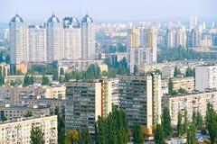 Kiev left bank skyline, Ukraine Stock Photography