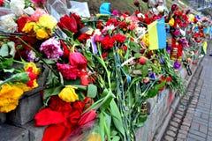 Kiev Maidan Stock Photo