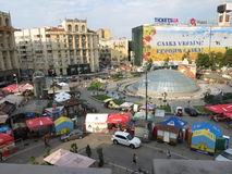 Kiev, Maidan  revolution square Stock Image