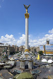 Kiev Maidan after the revolution Stock Photos
