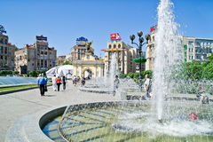 Kiev, main square of city Royalty Free Stock Image