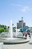 Kiev, main square of city Royalty Free Stock Photography