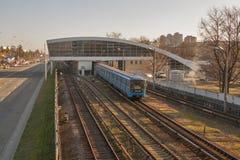Kiev Metro station royalty free stock photography