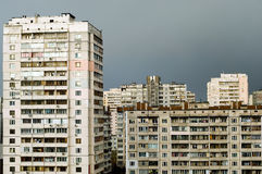 Kiev modern housing Stock Photo