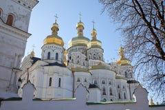 kiev monasteru Ukraine vydubychi Fotografia Stock