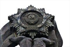Kiev, monument à l'amitié de l'Ukraine et de la Russie images libres de droits