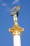 kiev monument Arkivbild