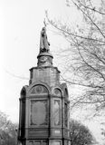 Kiev The Monument to Prince Vladimir 1964 Royalty Free Stock Images