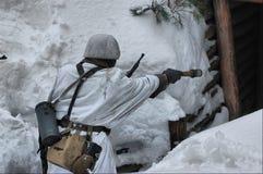 Kiev nell'ambito dell'occupazione dei contadini cattolici dall'Ucraina occidentale Fotografia Stock Libera da Diritti