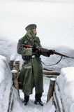 Kiev nell'ambito dell'occupazione dei contadini cattolici dall'Ucraina occidentale Fotografia Stock