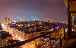 Kiev at night. Cityscape Stock Images