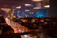 Kiev at night. Cityscape Stock Image