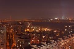 Kiev at night Stock Image