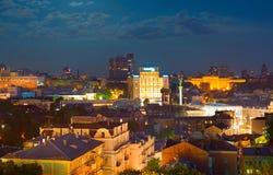 Kiev at night. Ukraine Royalty Free Stock Photography