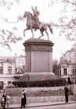 Kiev The Nikolay Schors Monument May 1964 Royalty Free Stock Images