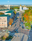 Kiev Old Town, Ukraine Stock Images