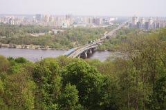 kiev panoram s Fotografia Royalty Free