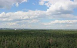 kiev panorama Fotografering för Bildbyråer