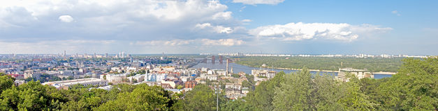 Kiev panorama Stock Photo
