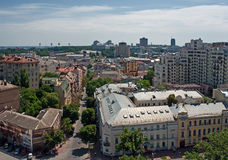 Kiev. Panorama 3 Royalty Free Stock Photo